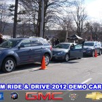 GM Ride And Drive 2012 Demo Cars